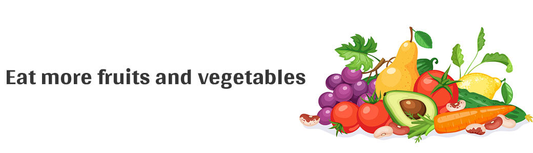 Eat more fruits and vegetables - Generic Villa
