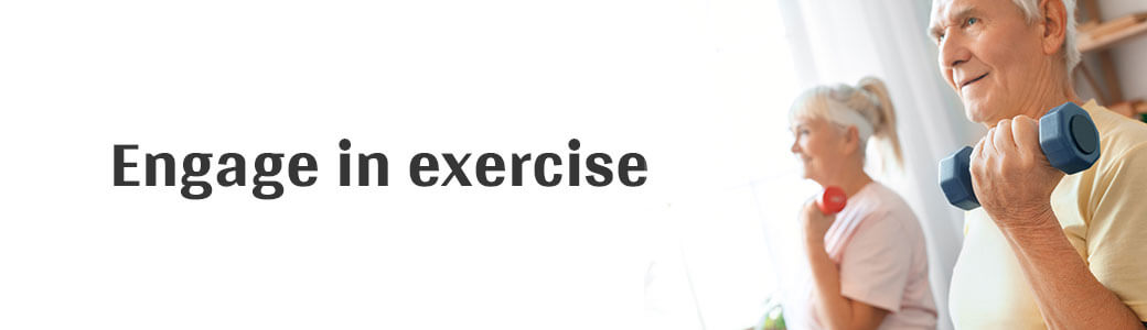 Engage in exercise - Generic Villa