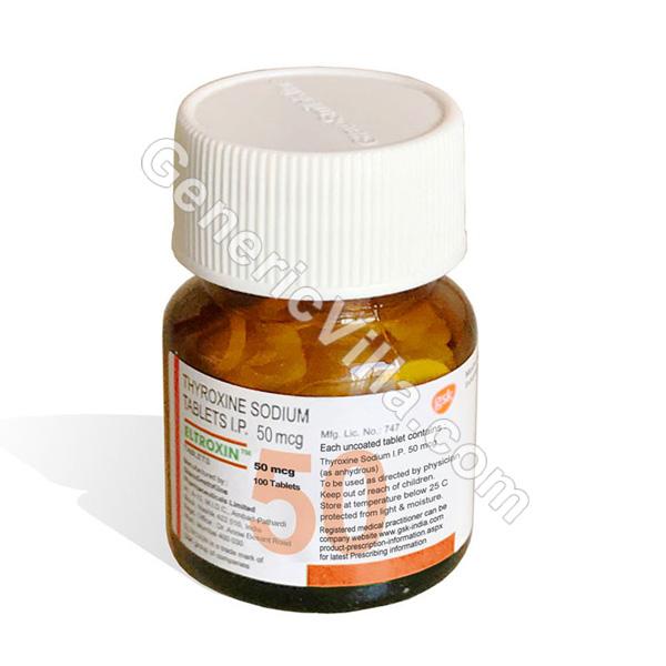 Eltroxin 50mg Thyroxine Sodium Generic Villa