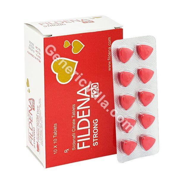 Buy Fildena 120,【Fildena Strong 120】online @$0.82/pill - Generic Villa