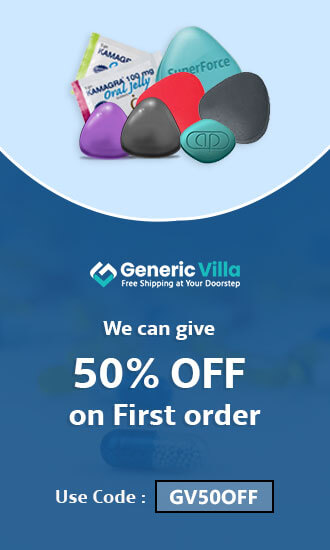 50% - OFF-On-first -Order - Generic Villa
