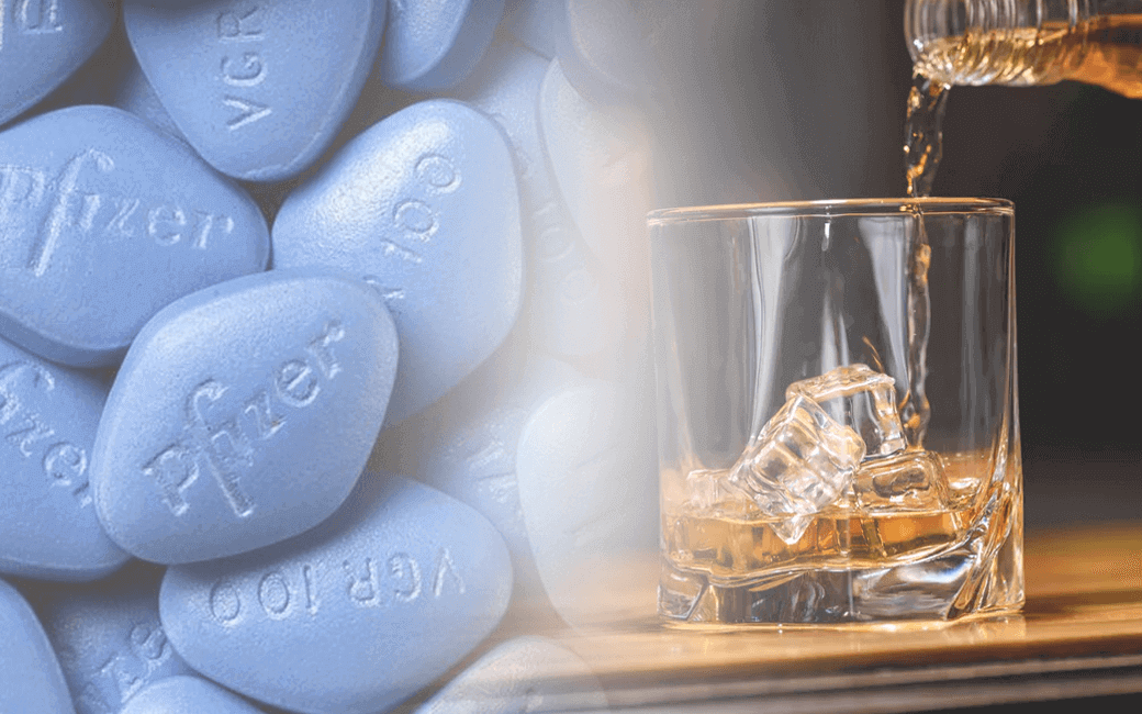Viagra and Alcohol is dangerous for Erectile Dysfunction - GV