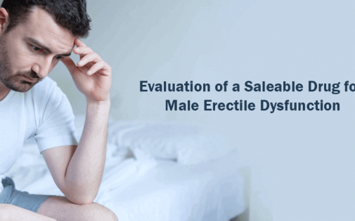 Evaluation of a Saleable Drug for Male Erectile Dysfunction