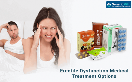 Erectile Dysfunction Medical Treatment Options - Allopathic Medications