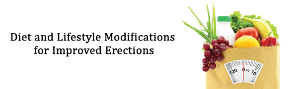 Diet and Lifestyle Modifications for Improved Erections