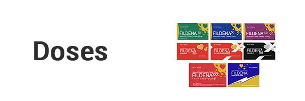 Doses Of Fildena