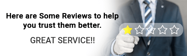 Here are some reviews to help you trust them better.