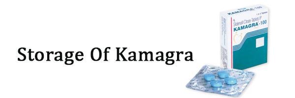 storage of kamagra