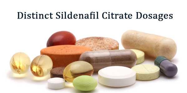 Distinct Sildenafil Dosages