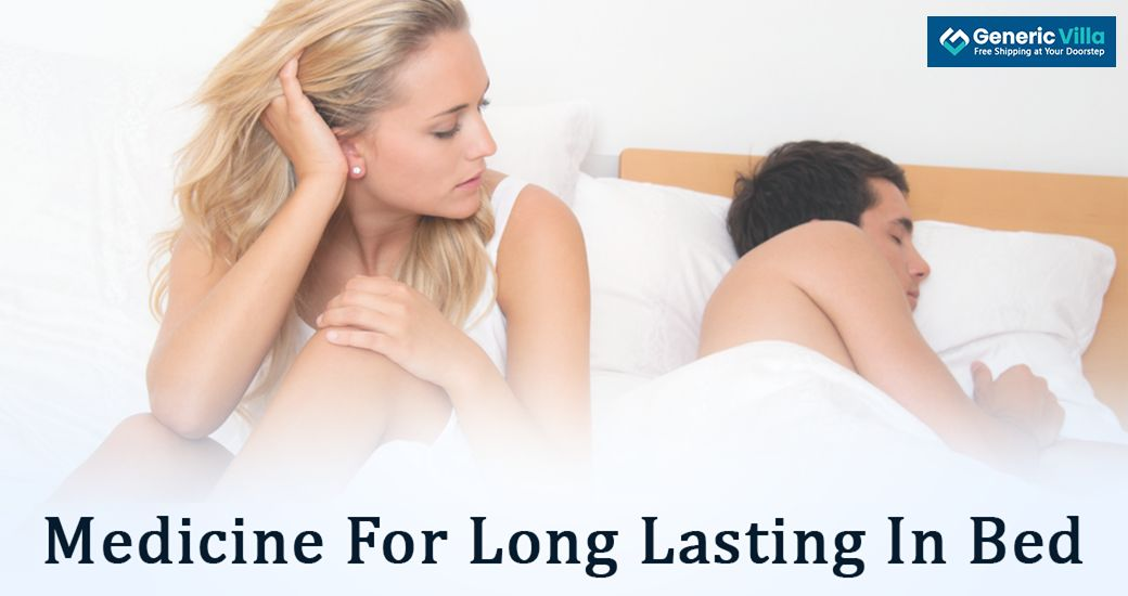 medicine for long lasting in bed