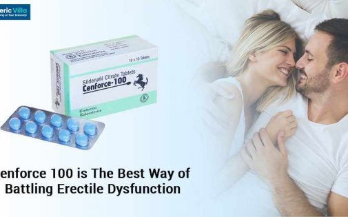 Cenforce 100 is the Best Way of battling Erectile Dysfunction