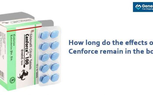 How long do the effects of Cenforce remain in the body