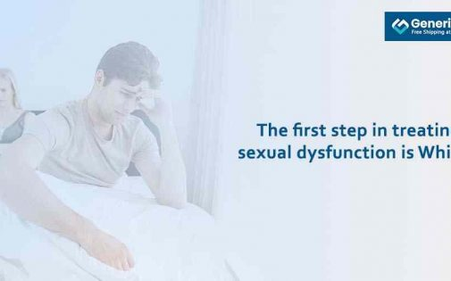 The first step in treating sexual dysfunction is Which