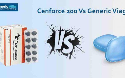 Cenforce 200 Vs Generic Viagra